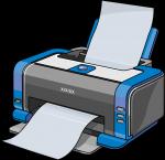 Printer freehand drawings