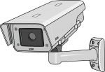 Security Camera freehand drawings