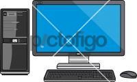 Computer DesktopFreehand Image