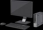 Computer Desktop freehand drawings