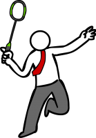 BadmintonFreehand Image