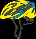 Cycle Helmet freehand drawings