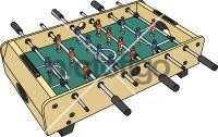 Football TableFreehand Image