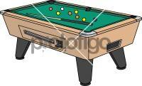 Pool TableFreehand Image