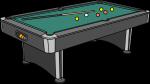 Pool Table freehand drawings