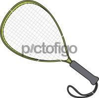 Racketball RacketFreehand Image