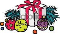 Christmas BallFreehand Image