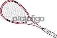 Squash RacketsFreehand Image