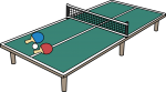 Table Tennis freehand drawings