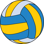 Volleyball freehand drawings