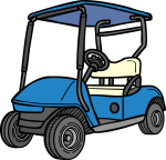 Golf Cart freehand drawings