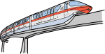 Monorail freehand drawings