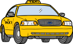 Taxi freehand drawings