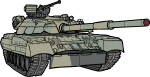 Tank freehand drawings