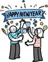 New YearFreehand Image