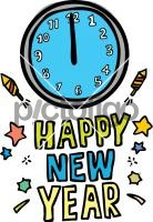 New YearFreehand Image