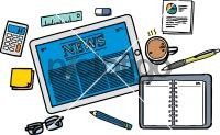 Digital NewsFreehand Image