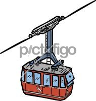 Cable CarFreehand Image