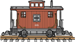 Caboose freehand drawings