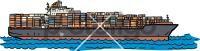 Cargo ShipFreehand Image