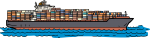 Cargo Ship freehand drawings