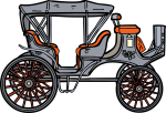 Carriage freehand drawings