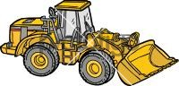 Caterpillar TractorFreehand Image