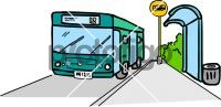 Bus StopFreehand Image