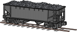 Coal Car freehand drawings