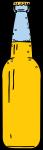 Beer Bottle freehand drawings