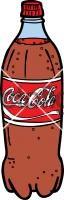 Coke BottleFreehand Image