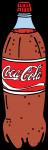 Coke Bottle freehand drawings