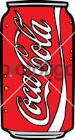 Coke CanFreehand Image