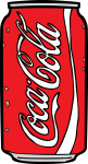 Coke Can freehand drawings