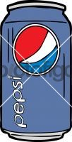 Pepsi CanFreehand Image
