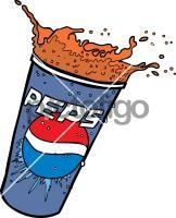 Pepsi SplashFreehand Image