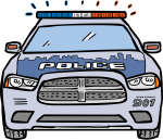 Police Car freehand drawings