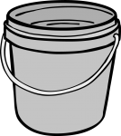 Bucket freehand drawings
