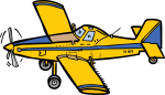 Crop Duster freehand drawings
