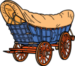 Conestoga Wagon freehand drawings