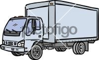 Delivery TruckFreehand Image