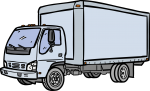 Delivery Truck freehand drawings