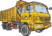 Dump truckFreehand Image