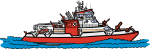 Fire Boat freehand drawings