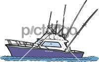 Fishing BoatFreehand Image