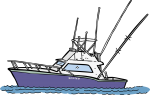 Fishing Boat freehand drawings