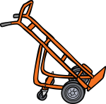 Hand truck freehand drawings