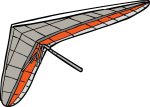 Glider freehand drawings