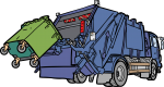 Garbage Truck freehand drawings