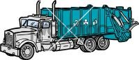 Garbage TruckFreehand Image